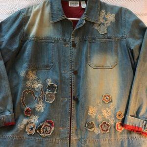 Chico's denim jacket